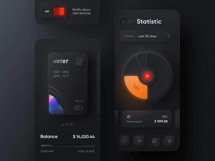 Statistic Application Design and Development