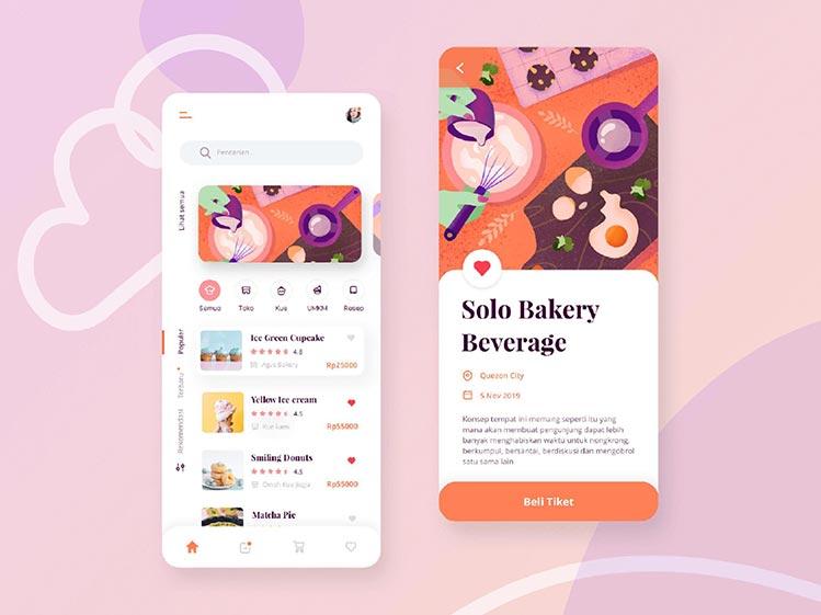 Bakery Application Design and Development