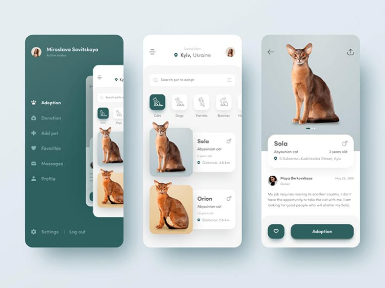 Animal Application Design and Development