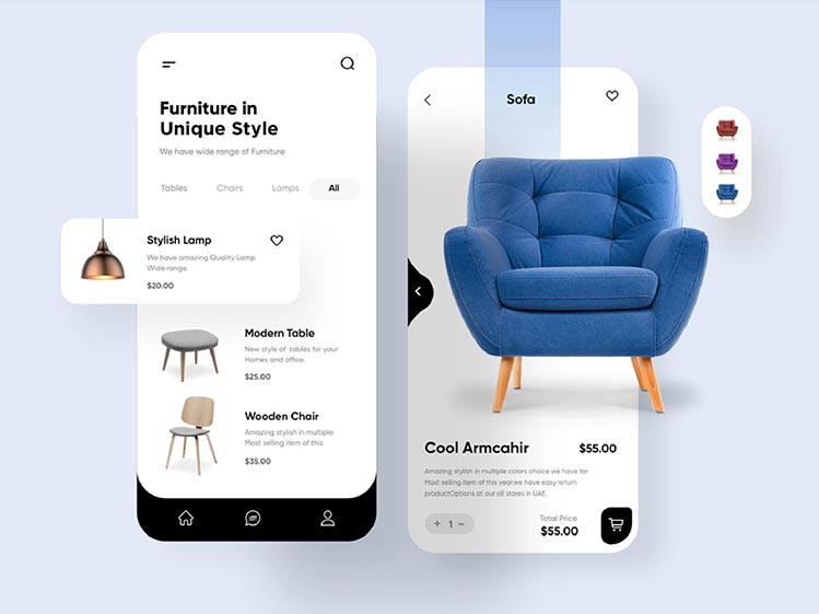 Furniture Application Design and Development